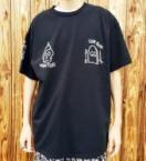 Hand-embroidery Tee   *ブラック*