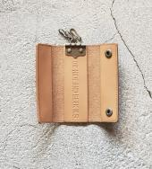 Leather Key Case   *ベージュ*