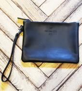 Leather Clutch Bag(M)   *ブラック*