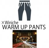 ×Winiche WARM UP PANTS