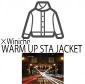 ×Winiche WARM UP STA JACKET