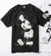 BxH DISNY STEAMBOAT WILLIE TEE *ブラック*