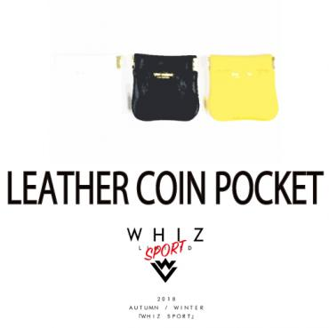 LEAHTER COIN POCKET