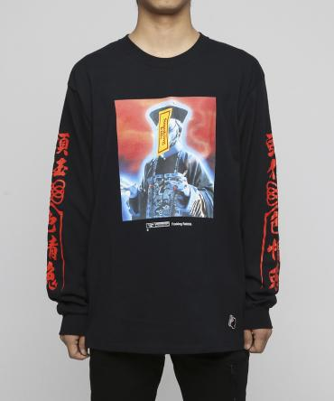 The Zombie Longsleeve T-shirt [FRC401]   *ブラック*