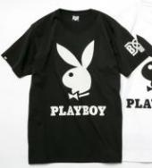BxH PLAY BOY T-SHIRTS **ブラック*