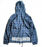 BxH NYLON CHECK PARKA *ネイビー*
