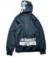B×H ×BROOKLYN MACHINE WORK ZIP UP PK*ブラック*
