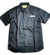 BxH WORK SHIRTS **ブラック*