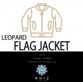 FLAG JACKET [LEOPARD]