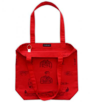 First aid tote bag   *レッド*
