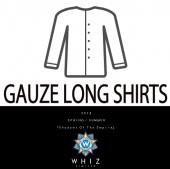 GAUZE LONG SHIRTS