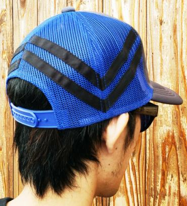 Embroidery mesh cap   *グレー*