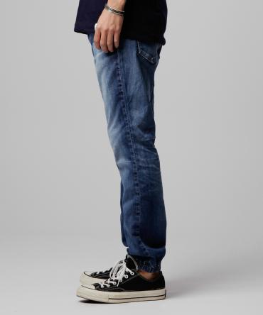 jogger denim pants *インディゴ*