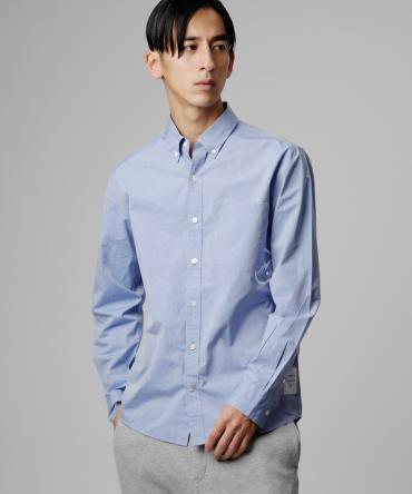icon broad shirt *ブルー*