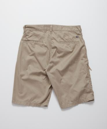 cotton chino shorts *ベージュ*