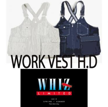 WORK VEST HICKORY/DENIM