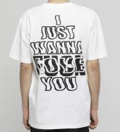 LOVE or FXXK T-shirt [ FRC391 ] *ホワイト*