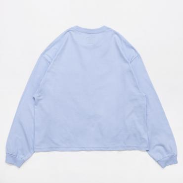 L/S WIDE CUTSEWN *サックス*