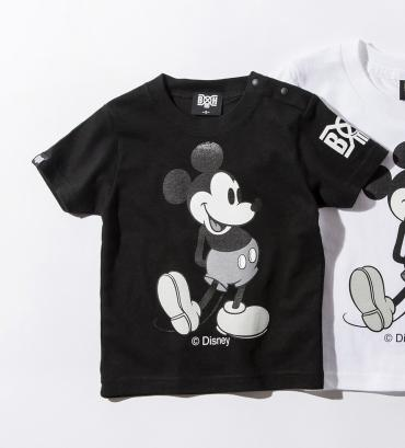 BxH MICKEY KIDS TEE *ブラック*