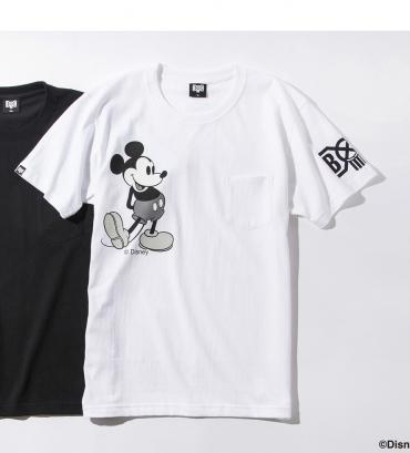 BxH MICKEY POCKET TEE *ホワイト*