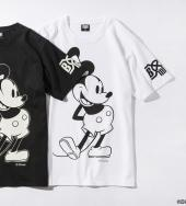BxH Disney STEAMBOAT WILLIE TEE *ホワイト*