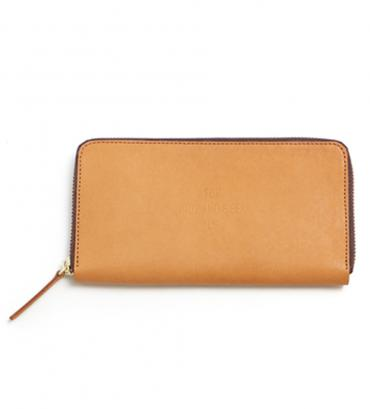 FOR HS LEATHER WALLET (18ss) *ブラウン*