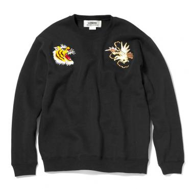 CREWNECK SWEAT *ブラック*