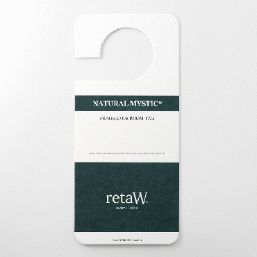 NATURAL MYSTIC FRAGRANCE ROOM TAG