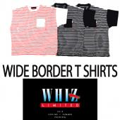 WIDE BORDER T SHIRTS