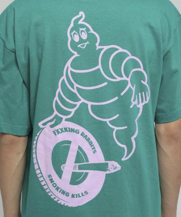Smoke Busters T-shirt [ FRC392 ] *グリーン*