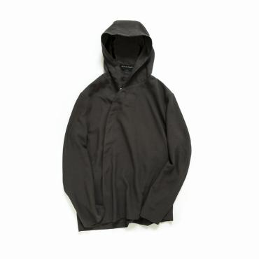 DEFORMED HOODED SHIRTS *ダークブラウン*