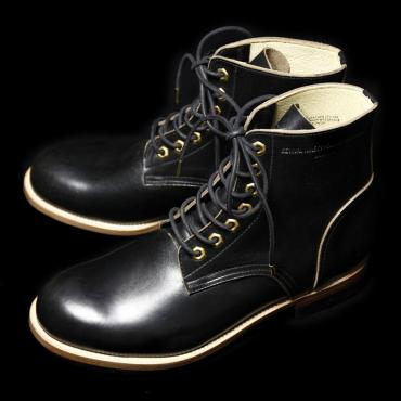 U.S. OIL LEATHER WORK BOOTS *ブラック*