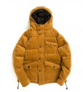 HEXAGONAL DOWN JACKET *キャメル*