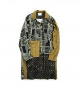 THREE PATTERN MIX SHIRTS COAT