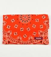 BANDANNA CLUTCH BAG *オレンジ*