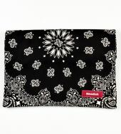 BANDANNA CLUTCH BAG *ブラック*