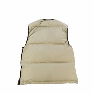 GO OUT PULLOVER DOWN VEST *ベージュ*