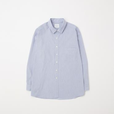 BIG STRIPE SHIRTS *サックス*