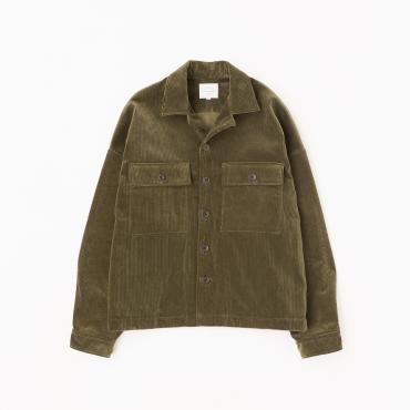 WIDE MILITARY JACKET *オリーブ*