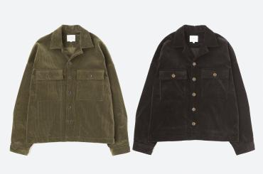 WIDE MILITARY JACKET *ブラック*