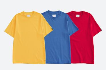 COLOR TEE *ブルー*