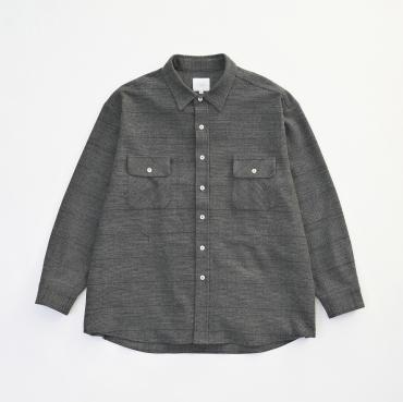 GLENCHECK BIG SHIRTS *ダークグレー*