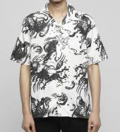 Devil fish shirt [ FRS012 ] *ホワイト*