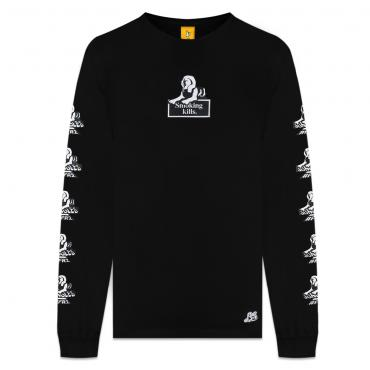 SMOKING KILLS LS TEE *ブラック*