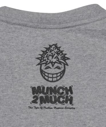 BACKCHANNEL×PRILLMAL MUNCH T *グレー*