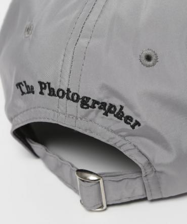 No Photos Embroidery Six Panel Cap [FRA382]*グレー*