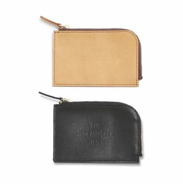 FOR HS LEAHTER KEY COIN WALLET *ブラウン*