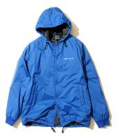 HOODED WINDBREAKER **ブルー*