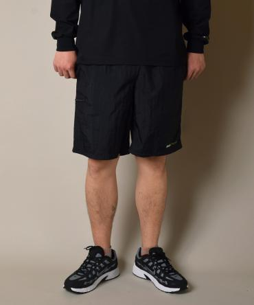 OFFICIAL LOGO NYLON SHORTS *ブラック*