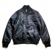 NYLON STADIUM JACKET *ブラック*